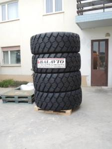 Tyres for wheel excavators, loaders, dumpers in stock