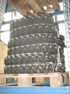 Rubber tracks for mini excavators Kubota