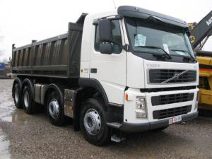 Meiller body Type 20 for Volvo Trucks