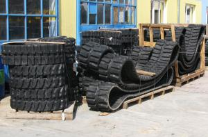 Rubber tracks for mini excavators Yanmar