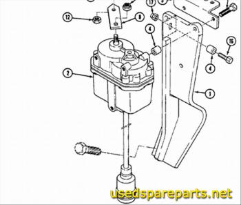 CASE 988 ELECTRIC MOTOR N941540