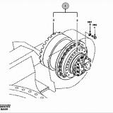 O&K RH5 TRANSMISSION GEAR 1780014