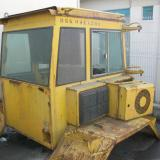 Cab dismantled from Volvo A30B Dumper