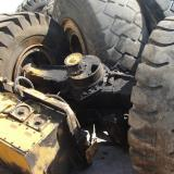 Rear axle with tyres for VOLVO BM4600 wheel loader